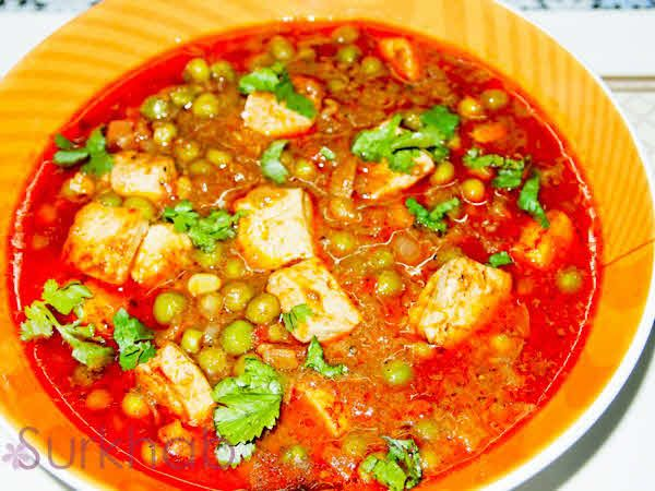 Matar paneer is a popular main course indian dish made with green spicy and delicious matar paneer recipe forumfinder Choice Image