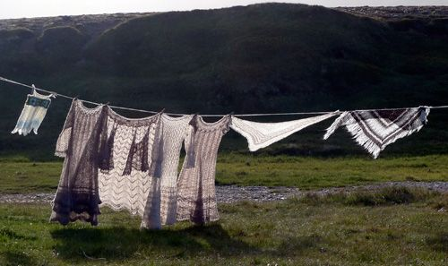 Icelandic knitting heritage, patterns and knitting tours in Iceland - Hélène Magnússon News: Postcards from our Hiking and Knitting tour with the Elves, Iceland