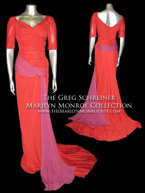 Marilyn Monroe Oleg Cassini Gown