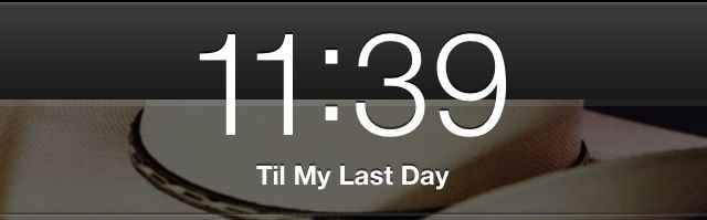 Till My Last Day by Justin Moore