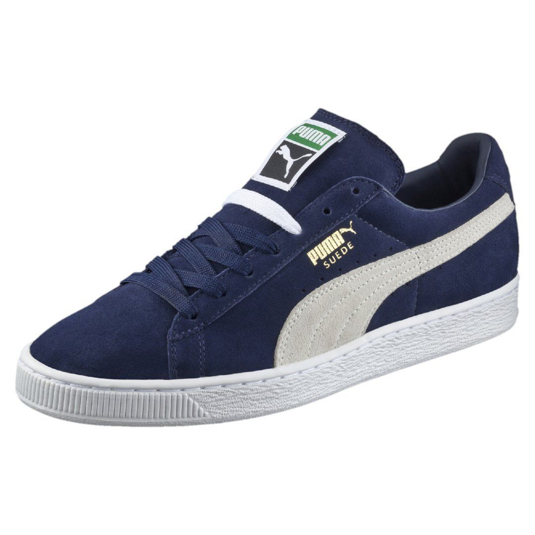 Suede Classic Peacoat / 356568-51 / Mens Puma 60s Low Plus White Blue FS