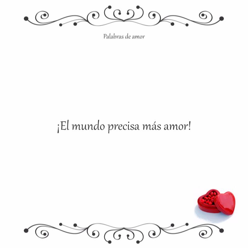 Palabras De Amor Love Phrases Words Quotes