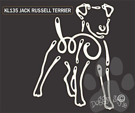 K Lines Jack Russell Terrier Window Tattoo Deca http://doggystylegifts.com/products/k-lines-jack-russell-terrier-window-tattoo-decal