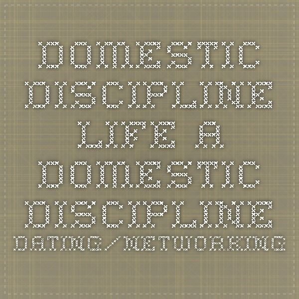 Domestic discipline dating site