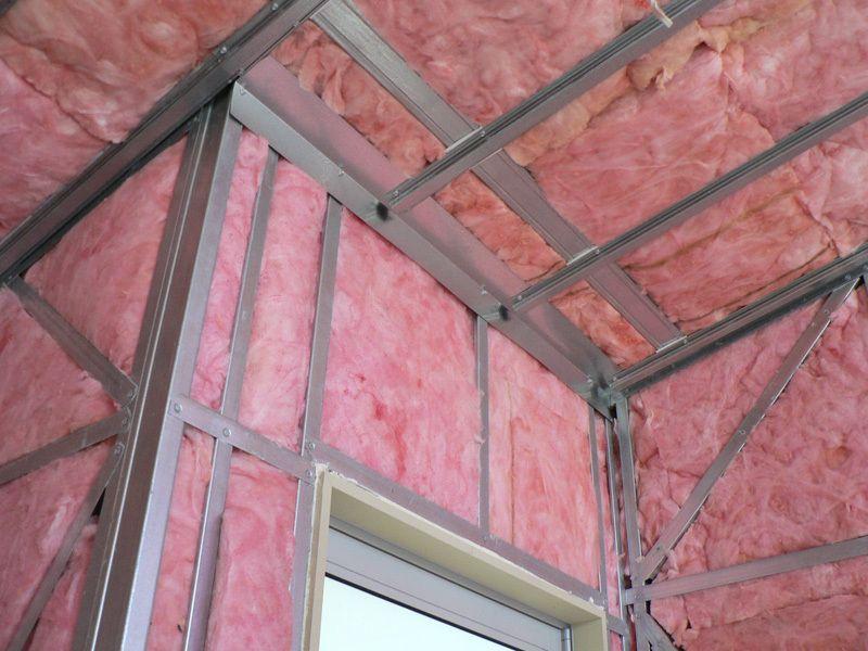 Pink Bats Batts Insulation For Steel Framed Walls