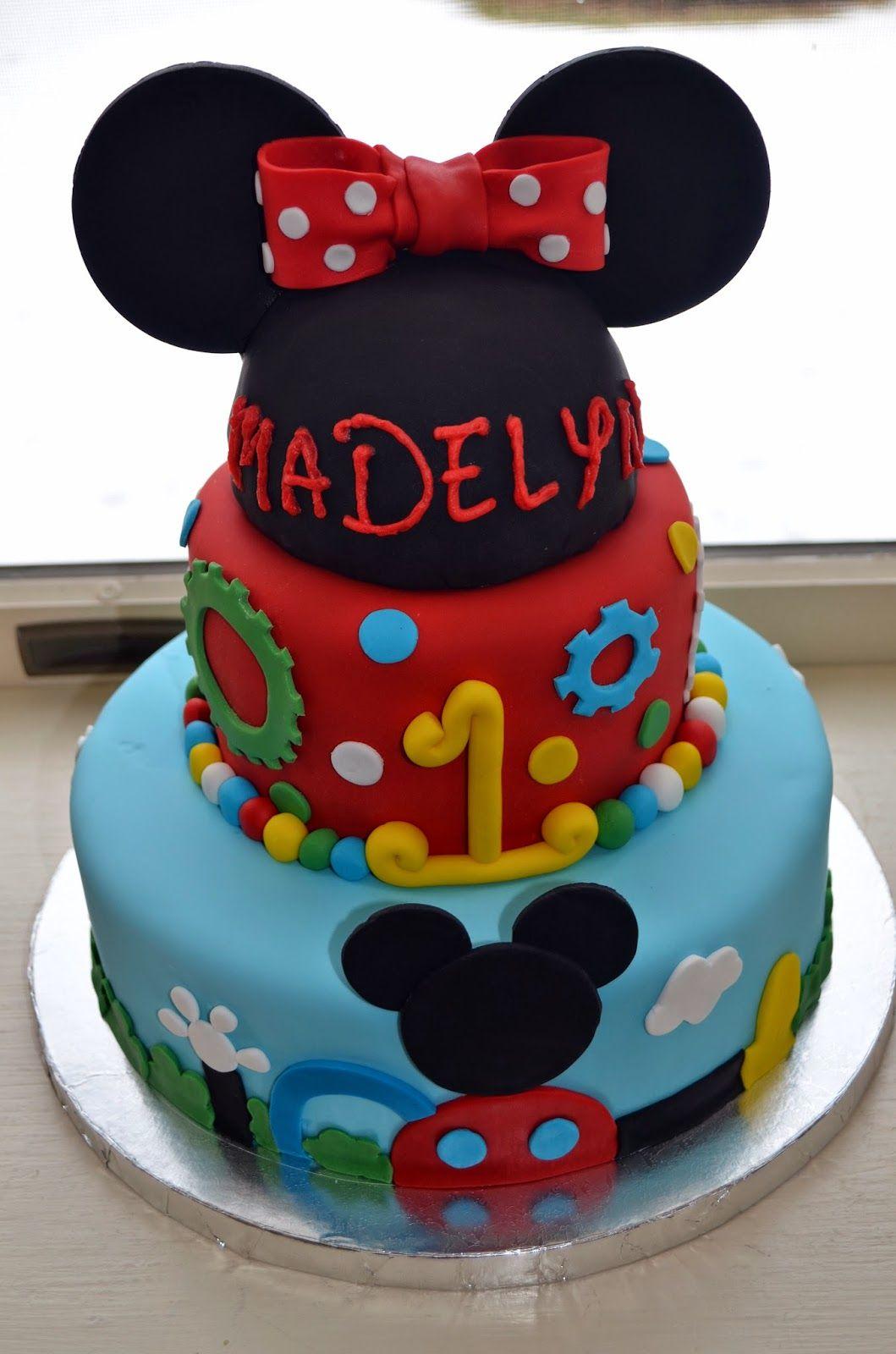 Flavors By Four Mickey Mouse Clubhouse Birthday Party Ideas - Mickey birthday cake ideas