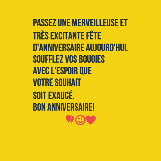 how to say thank you for birthday wishes in french