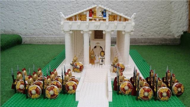 Greek Temple #Lego #Greece
