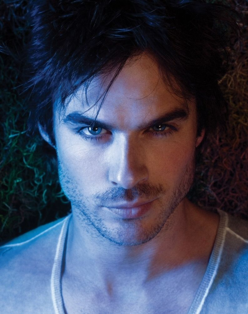 Ian Somerhalder. Good god.