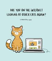Lingvistov Is Back With 24 Illustrations Summarizing His Life As a Cat Owner