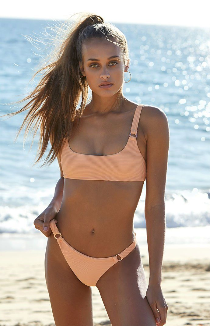 2459fc75b9 LA Hearts Sydney Ribbed Bralette Bikini Top at PacSun.com