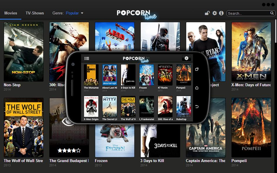 Showbox Your Entertainment App of the Future Popcorn