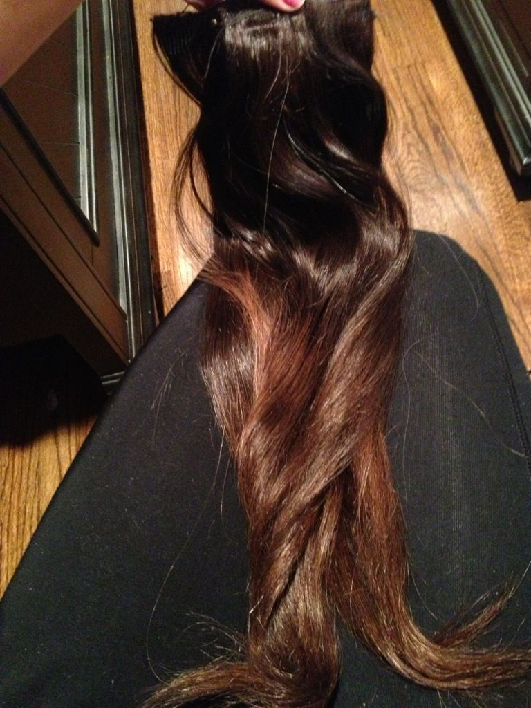 how to dye your human hair extensions ombre at home diy step by
