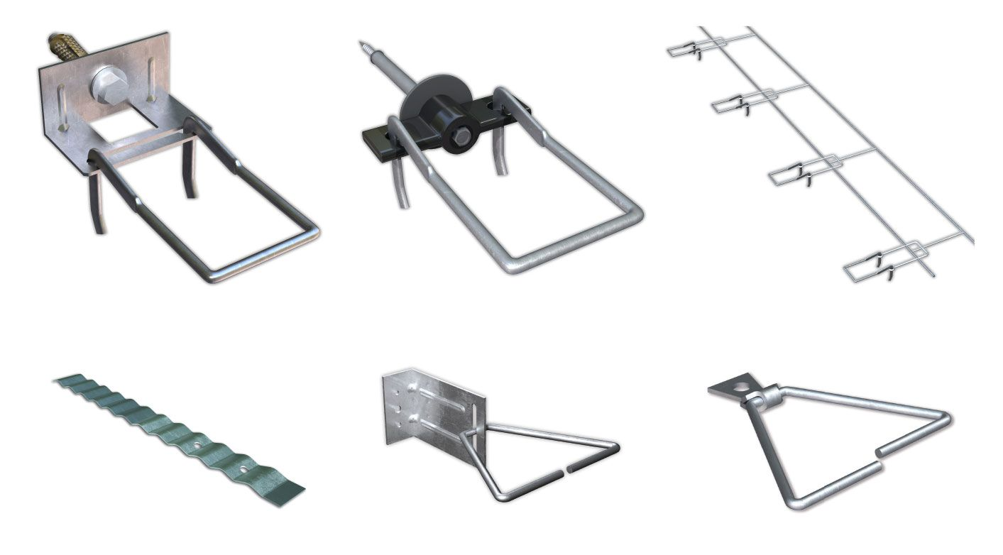 Fig 1 18 Masonry Veneer Tie Types Top Row Left To Right Standard Double Eye And Pintle Plate Tie Thermally Optimized Double Masonry Veneer Masonry Veneers