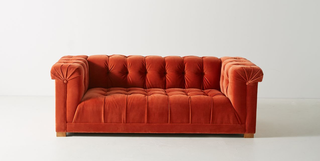 9 Red Sofas That Flip The Script On Tradition