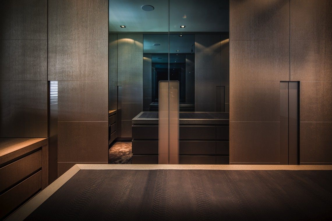 The netherlands private residence walk in closet rmr interior