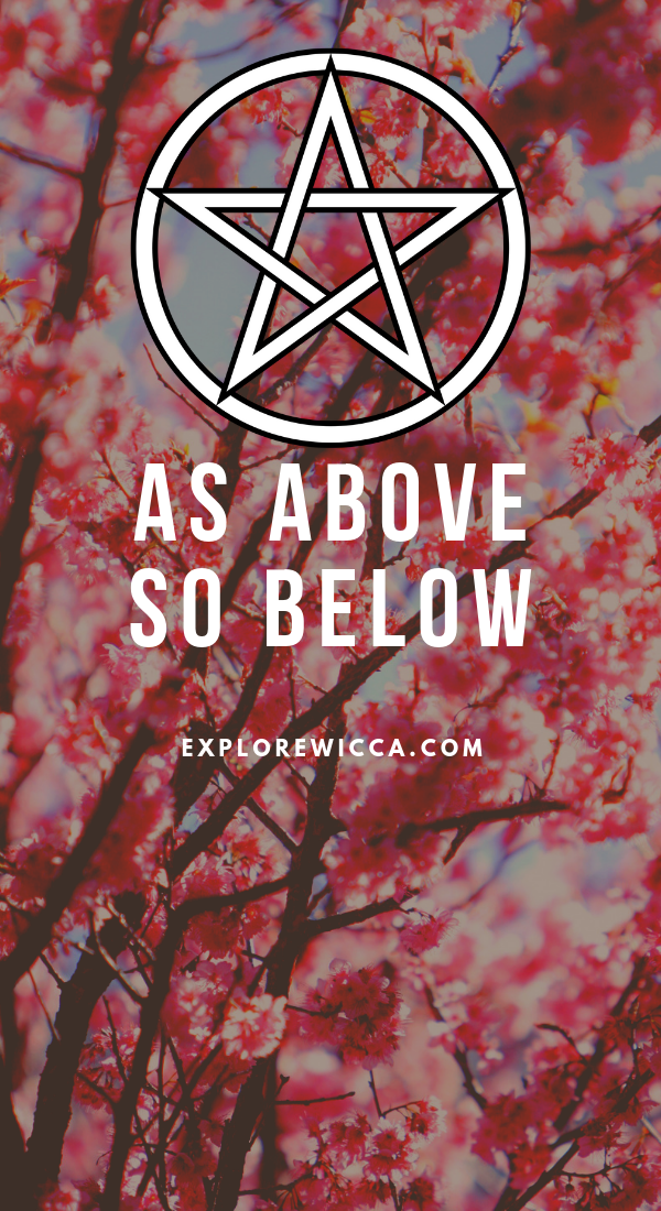 As Above So Below Full Quote : above, below, quote, Above,, Below, Wiccan, Quotes,, Beliefs,, Witch