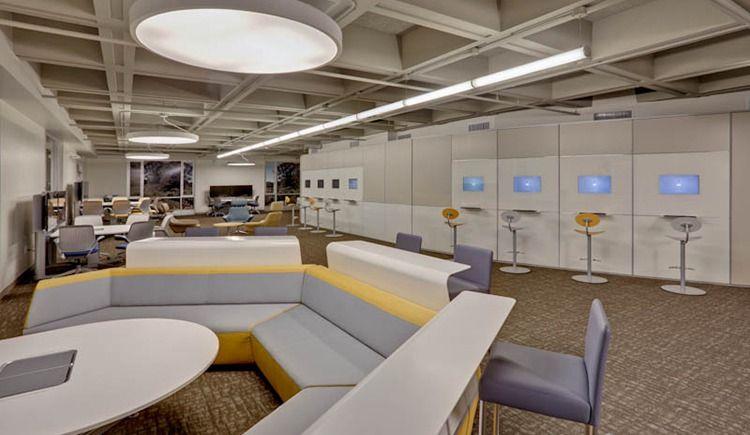 Office Design Portfolio University Of San Francisco One Workplace Portfolio Design Learning Spaces Design