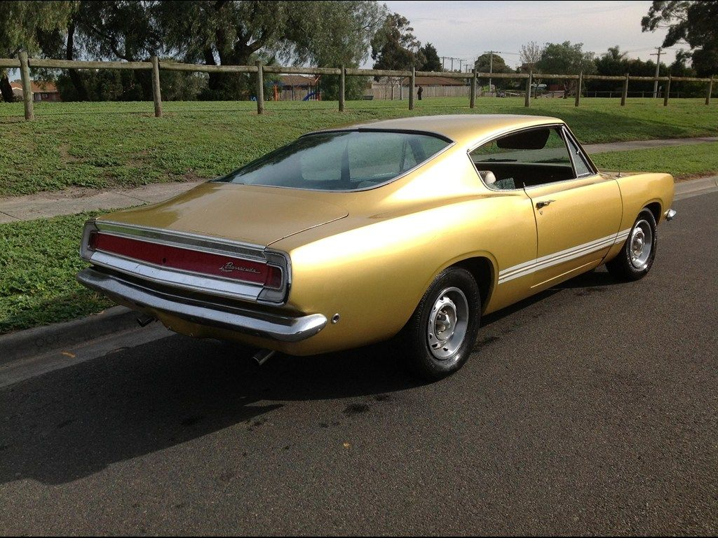 1968 PLYMOUTH BARRACUDA for sale | Trade Unique Cars, Australia | My ...