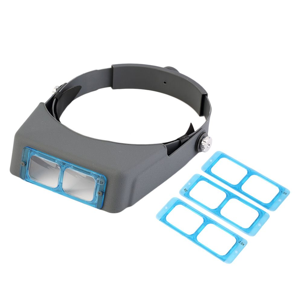 c5896ac57911 MG81007-B 1.5X 2X 2.5x 3.5x Hands Free Magnifier Magnifying Glass for  Operation Handicraft Jewelry