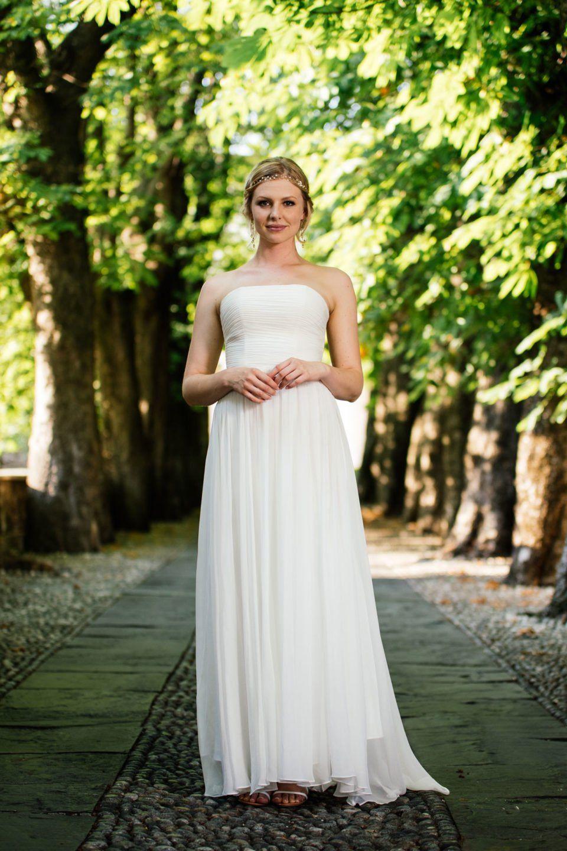 Hochzeitskleid 20er Jahre aus Seide – unsere Faye. Schlicht, edel