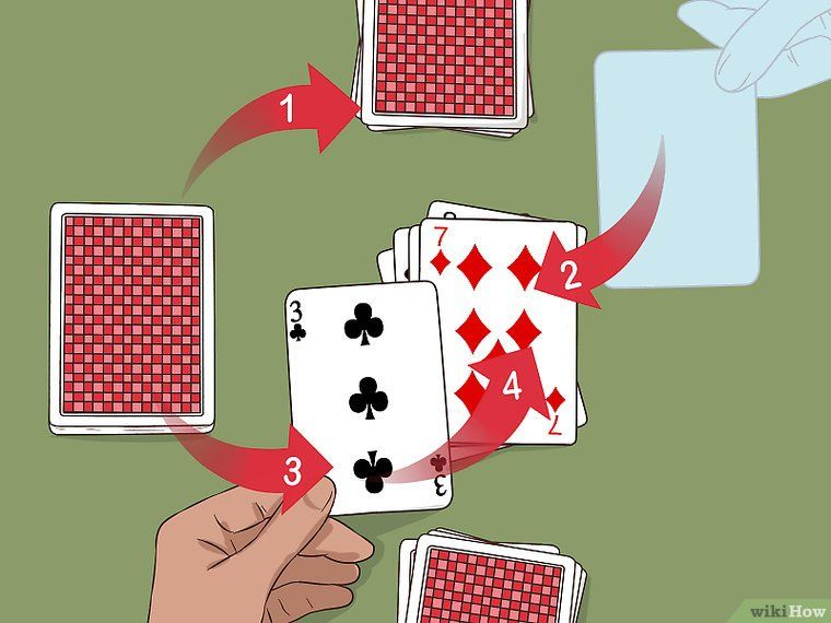 How To Play Gin Rummy With Pictures In 2020 Gin Rummy Rummy Two Person Card Games