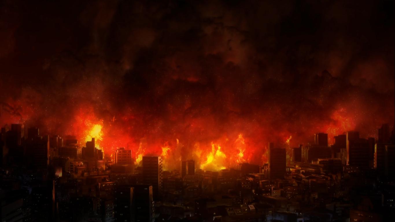 Fuyuki Fire【Fate/Stay Night】   Fate stay night, Stay night, Fire