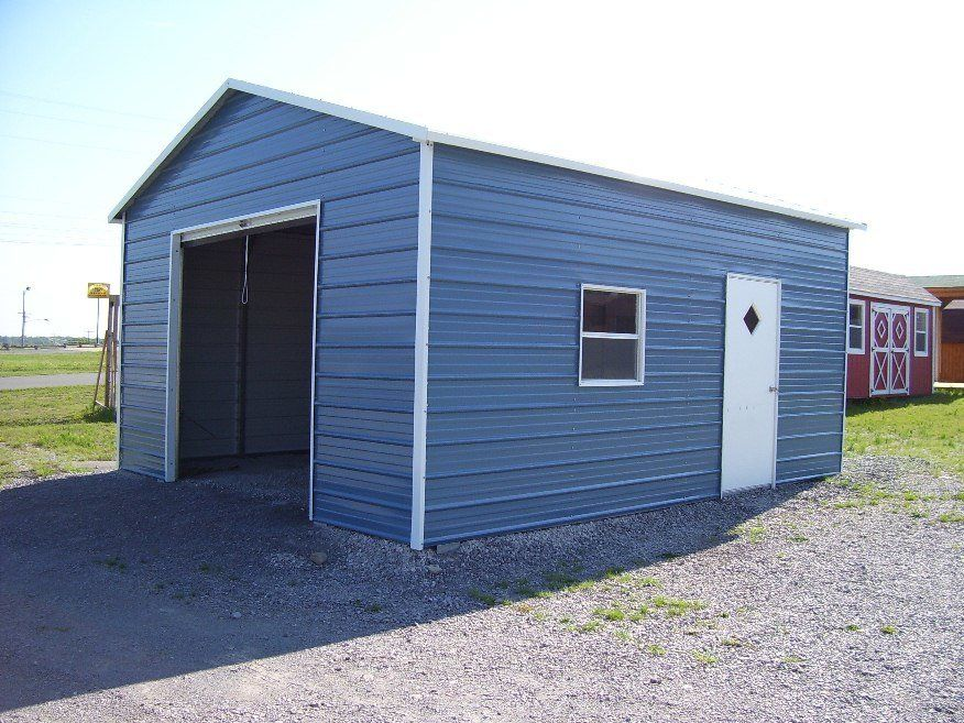 Pin On Steel Garages Carports Barns And Warehouses