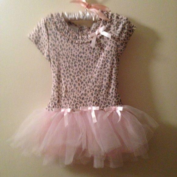 Girls Toddler Tutu dress Adorable tutu pink leopard print dress worn two  times. Wonder Kids Other 9f0a71cfc