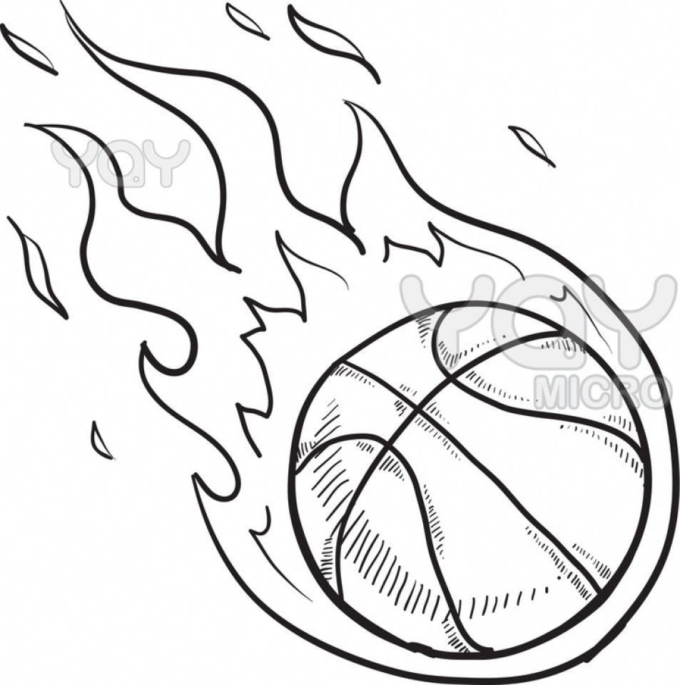 Get This Printable Basketball Coloring Pages Online 638590 Basketballquotes Coloring For Kids Ball Drawing Coloring Pages