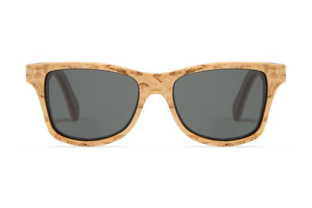 Shwood Canby Select Sunglasses - Karelian Burl