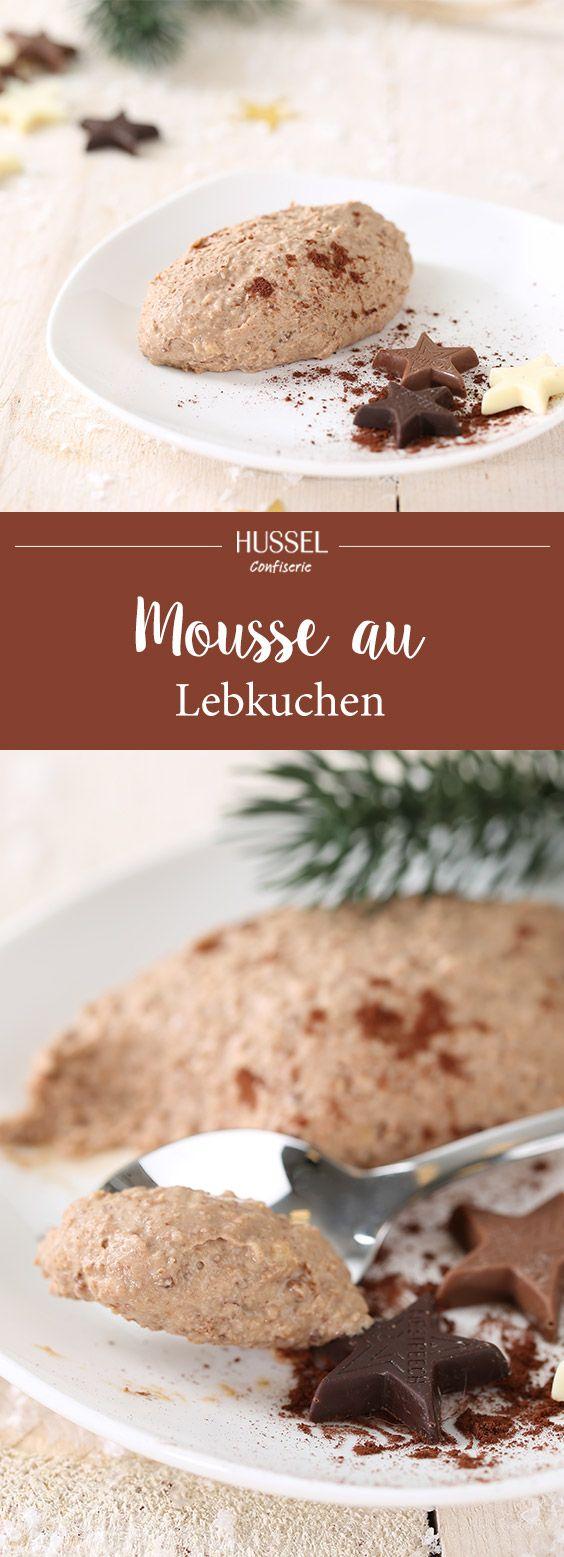 Cremige Mousse au Lebkuchen - Hussel Confiserie #nachtischweihnachten