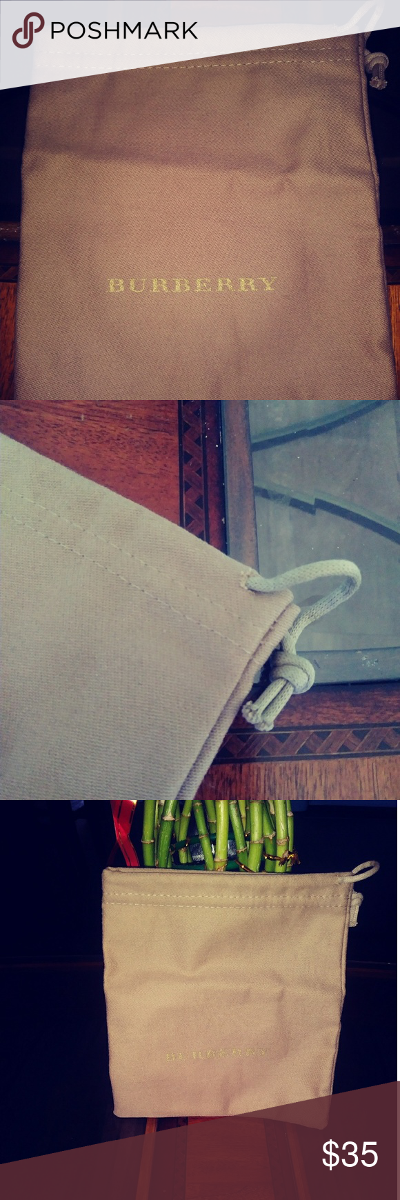 Brand new!!! Burberry pouch.