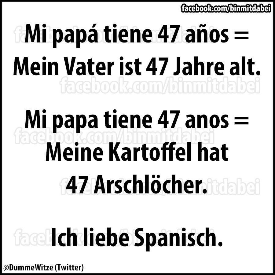 Liebe Spanisch Ich functions would make