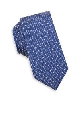 Nautica Navy Colye Dot Tie