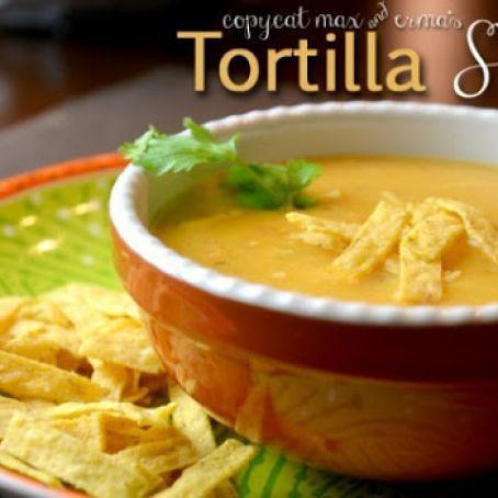 Max & Erma's Chicken Tortilla Soup Recipe, #Chicken #Ermas #Max #RECIPE #Soup #Tortilla