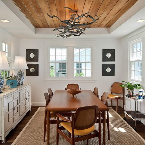 Living Room Recessed Lighting Ideas: Wood Tray Ceiling Home Design Ideas, Pictures, Remodel And