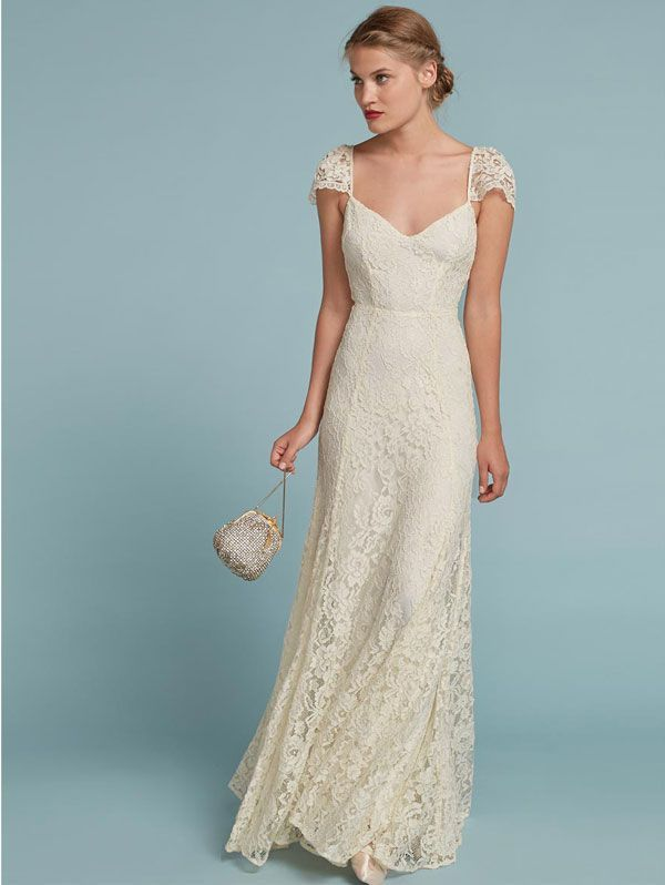 d4be9cb24d This Collection Will Make You Consider Buying A Second Wedding Dress   refinery29 http