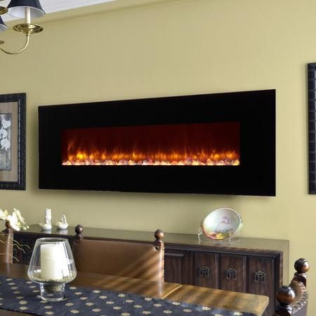Home Improvement Wall Mounted Fireplace Contemporary Electric