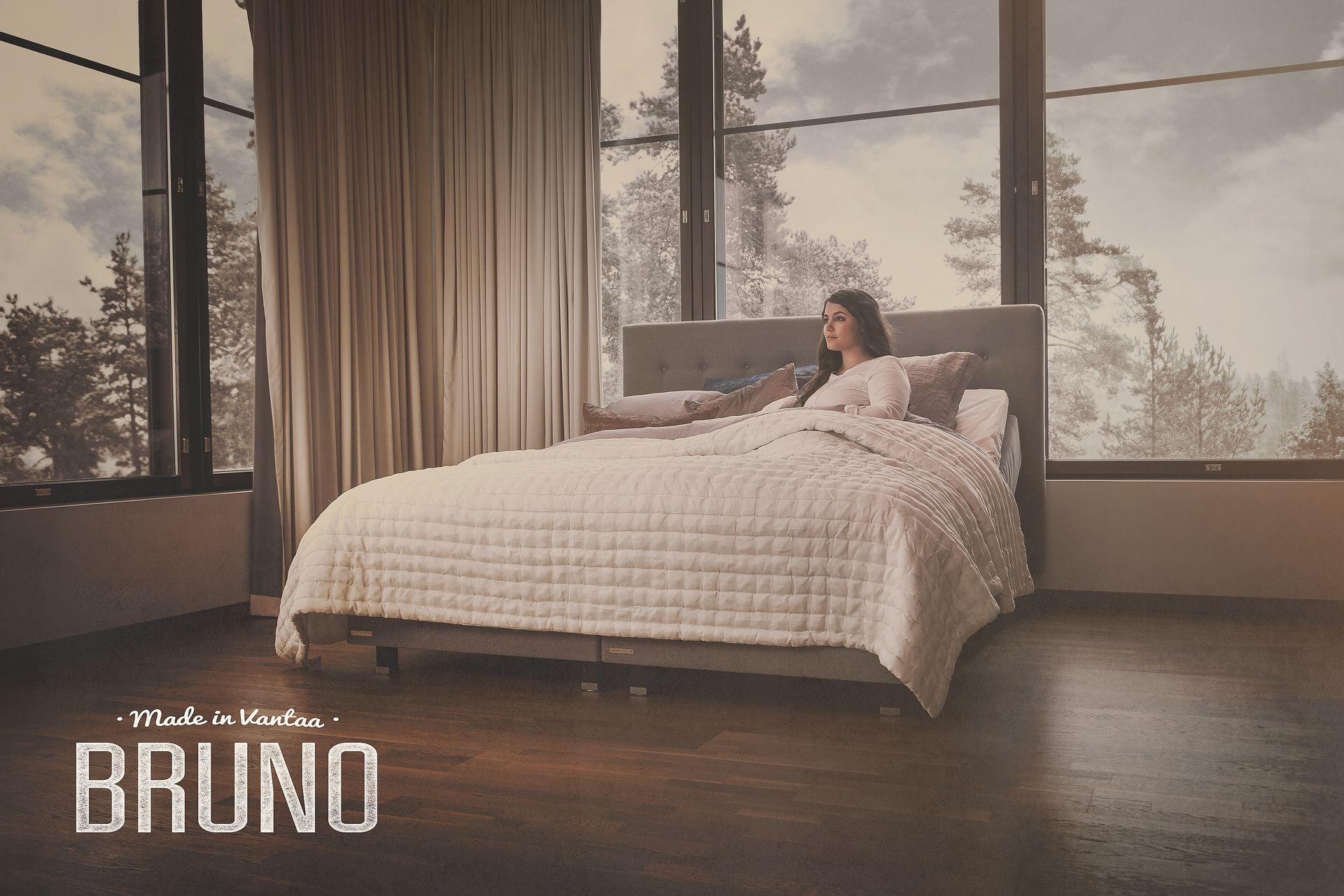 Paina pääsi tyynyyn, jolla nukut hyvin. #habitare2015 #design #sisustus #messut #helsinki #messukeskus
