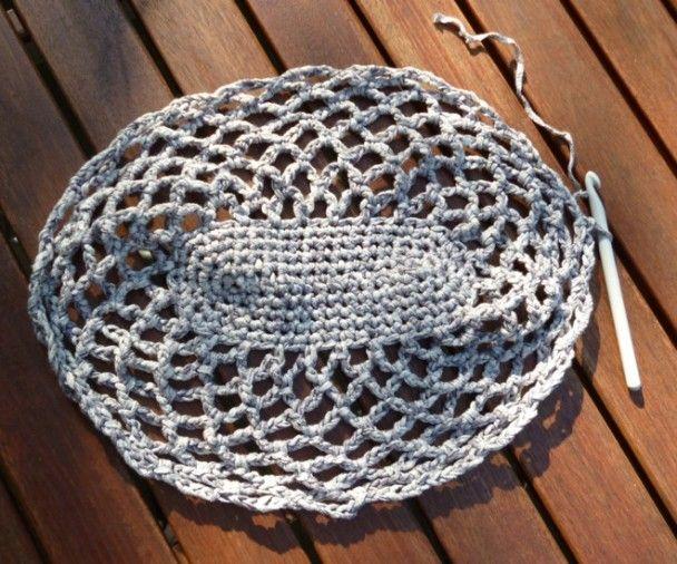 Einkaufsnetz Haekelanleitung Market Bag Pinterest Crochet