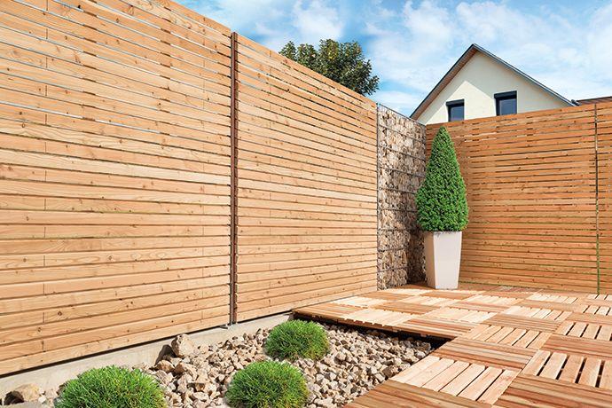 Sichtschutzzaun Aus Kunststoff Gute Alternative Holzzaun , Bildergebnis Für Rhombus Zaun Haus Zaun