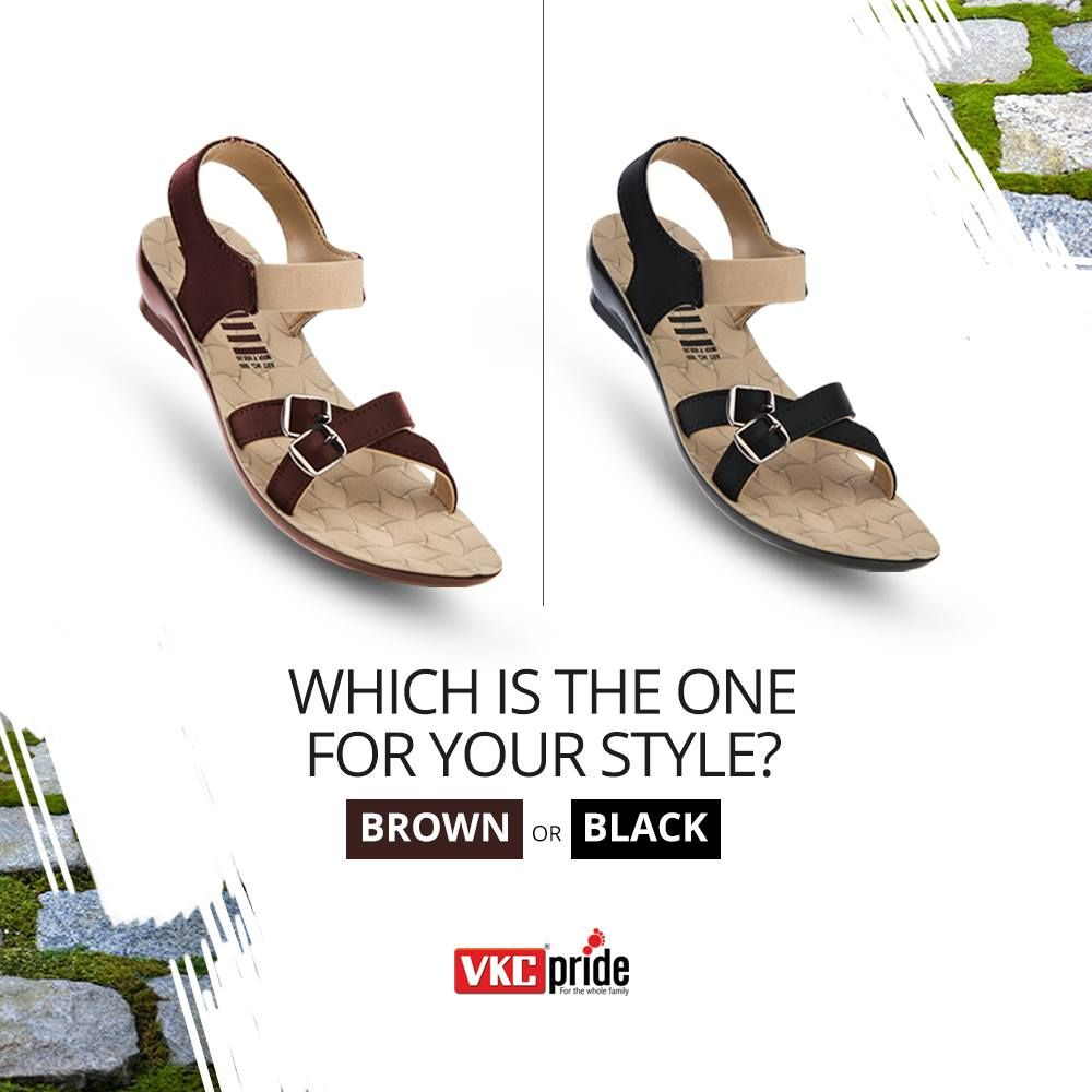 We all have different lifestyle choices. VKC gives you a multitude of  footwear selections.
