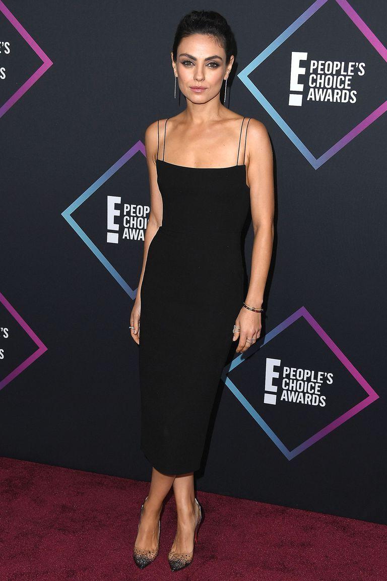 Mila Kunis Alex Perry Nice Dresses Celebrity Dresses Red Carpet Dresses [ 1153 x 768 Pixel ]