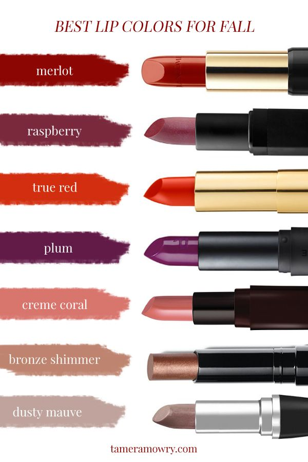 Best Lipstick Colors for Fall 2016 - Tamera Mowry