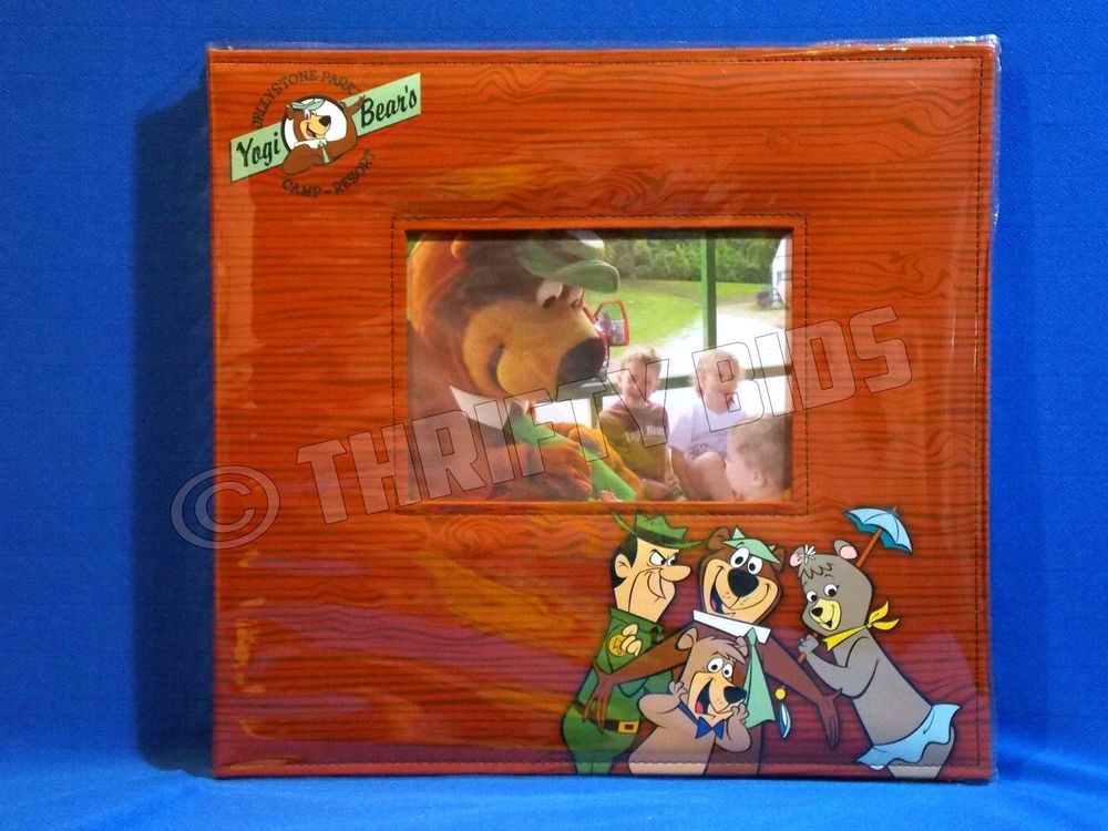 Yogi Bear S Jellystone Park Photo Album 12x12 Post Bound 15 Pages New W Defects 3birdshanna Photo Album Scrapbooking Yogi Bear Jellystone Park Jellystone Park