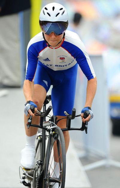 emma pooley | Emma Pooley of Great Britain starts the women's cycling time trial Tom ...
