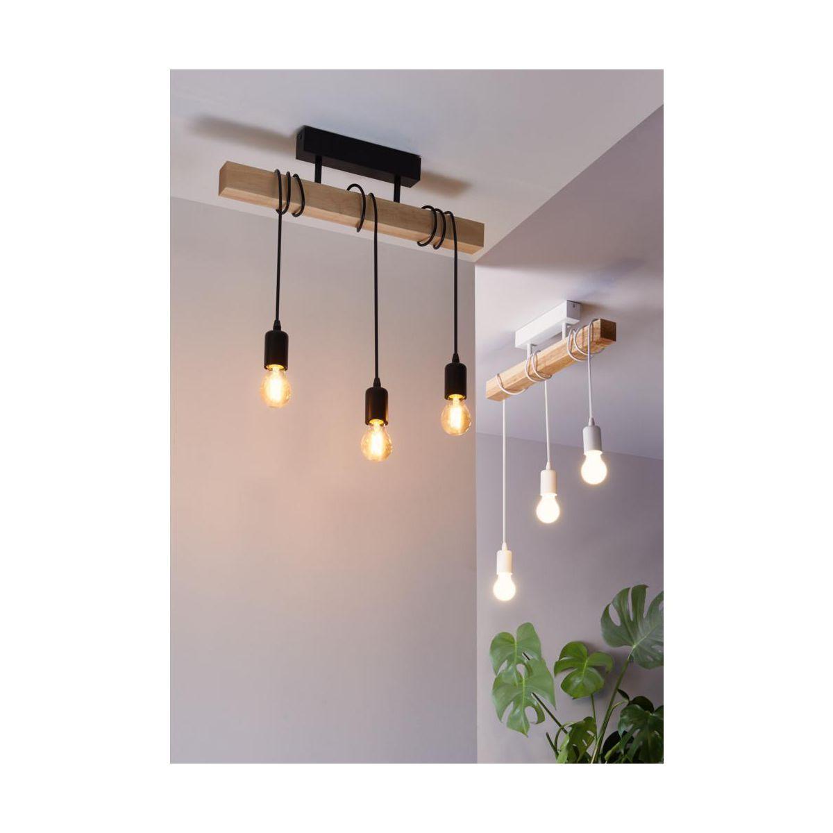 Lampa Wiszaca Townshend Czarna E27 Eglo Zyrandole Lampy Wiszace I Sufitowe W Atrakcyjnej Cenie W Sklepach Leroy Merlin Home Decor Decor Ceiling Lights