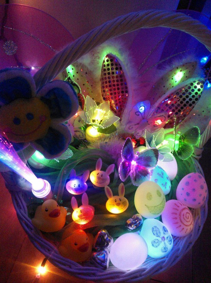 Light Ups Make Easter Fun Fill That Basket With Led Goodies