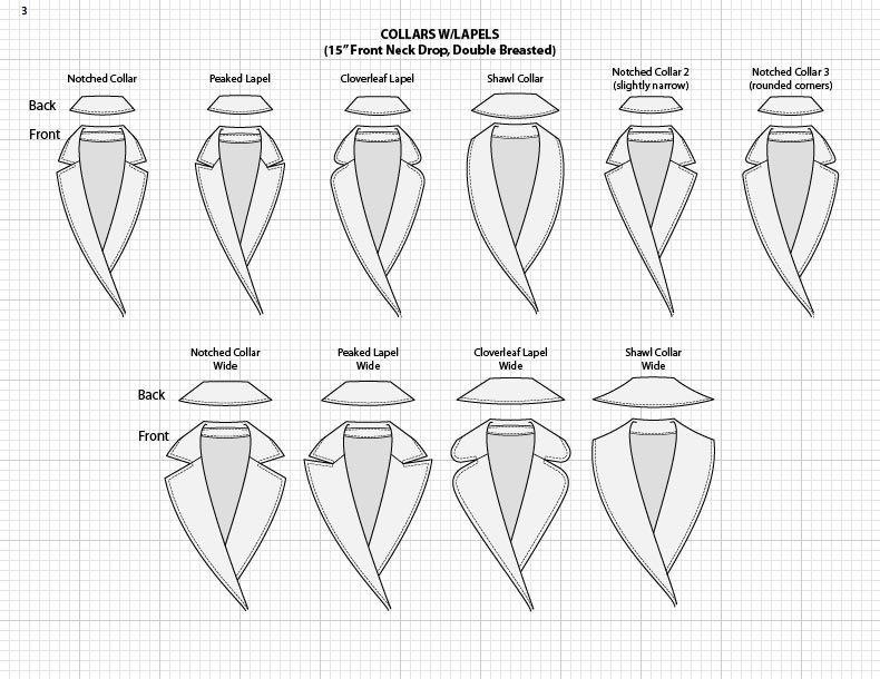 Adobe Illustrator Flat Fashion Sketch Templates